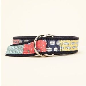 Vineyard Vines Patchwork D-Ring Belt